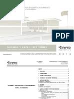 Normas de accesibilidad. Instituto Nacional de la Infraestructura Física Educativa (INIFED)
