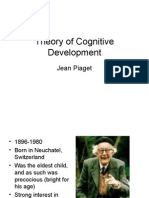 Piaget - Theory of Cognitive Development