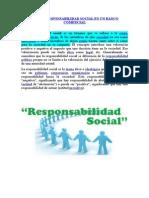 Etica y Responsabilidad Social de Un Banco Comercial