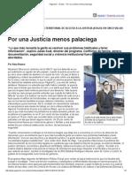 Página_12 __ El País __ Por Una Justicia Menos Palaciega