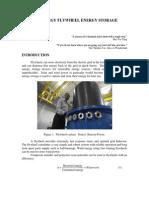 Kinetic Energy Flywheel Energy Storage