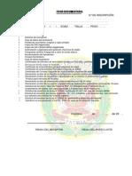 Procedimiento de Admision PNP