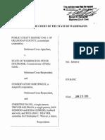 Public Utility Dist. No. 1 of Okanogan Cnty. v. State of Washington, No. 88949-0 (Wash. Jan. 29, 2015)