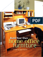 Build Your Own Home Office Furniture -13 Step by Step Projects (Malestrom)