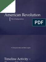 resultsamerican revolution