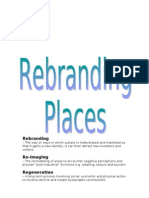 Rebranding Places Revision