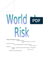 World at Risk Revision