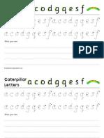 letter formation c