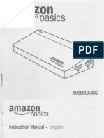 Amazon Basics 7 Port Usb 3 Hub B00E6GX4BG Owners Manual User Guide