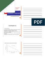 Unidade VIII - Correlação e Regressão CC