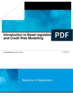 Introduction to Basel Regulation and Credit Risk Modelling