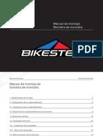 Manual de Montaje Bicicleta de Montaña