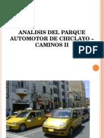 Analisis Del Parque Automor de Chiclayo _caminos