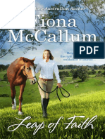Leap of Faith by Fiona McCallum - Chapter Sampler