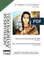 Novedades de Antropologia