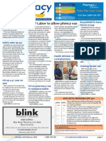 Pharmacy Daily for Mon 02 Feb 2015 - NSW Labor to allow phmcy vax, Broomhead to leave Corum Group, Cancer data 'wake up' call, Health Minister on rural pharmacy, and much more