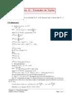 11 Formules de Taylor