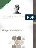 Concepciones Filosóficas e Históricas de La Personalidad