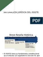 Naturaleza Jurídica Del Issste