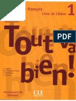 Tout Va Bien -1 Methode de Francais Livre