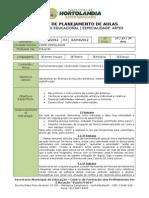 Plano de Aula (2) - Instrumentalização Expressão Corporal (MÃ-mica, Pantomima, Musical) - 02 de Março à 02 de abril