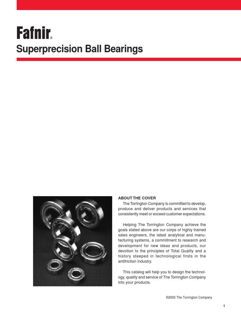 NEW FAFNIR 2MM9111WI DUL SUPER PRECISION BEARING SET 2MM9111WIDUL