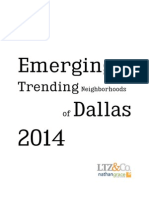 Dallas' 2014 Emerging and Trending Neighborhoods LTZ & Co Real Estate