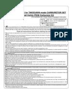 Install Manual for KEIHIN PE28