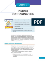 Test Taking Tips Sample Chapter