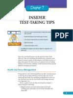 Test Taking Tips Sample Chapter