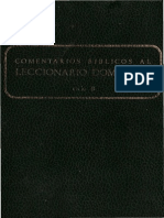 Comentarios Biblicos Al Leccionario Dominical (B) - Secretariado Nacional de Liturgia