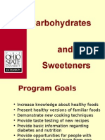 Carbohydrates and SweetnersCD