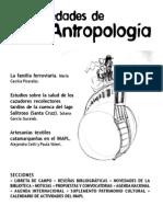 Novedades de Antropologia 52