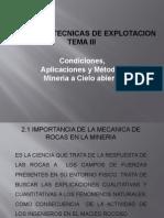Tema III Mineria II 2015