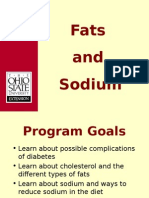 Fat and Sodiumcd