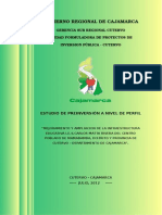 Perfil Colegio Carlos Matta Rivera- Mamabamba