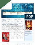 Dolls WE Love Newsletter 01-10