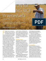 Rice Today Vol. 14, No. 1 a Passion for Growing Rice in Venezuela