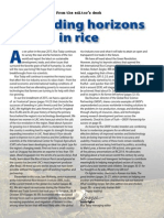 Rice Today Vol. 14, No. 1 Expanding Horizons in Rice