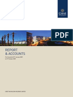 Crest Nicholson Holdings Annual Report (2009)
