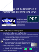 Playing games with the development of machine vision algorithms using ViPER