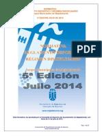 1.- Normativa Reglamento Deportivo Rygimen Disciplinario 5 Ediciyn 2014-2015