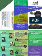 CBM Training Brochure 2015