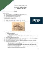 Pre-colonial Architecture Lecture