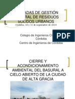 Jornadas GIRSU 2014 - Presentación Diego Ferrari