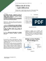Informe 6 Difraccion de La Luz