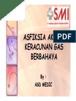 Asfiksia Akibat Keracunan Gas Berbahaya