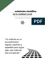 Epistemología de Mario Bunge (extracto resumido)