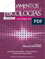 Fundamentos epistemológicos de la psicología