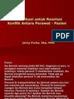 Komunikasi Resolusi Konflik P-K